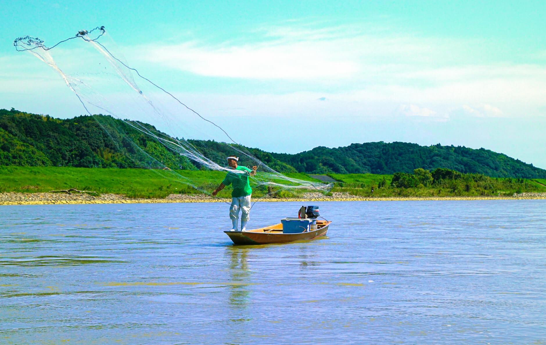 四万十川の伝統漁